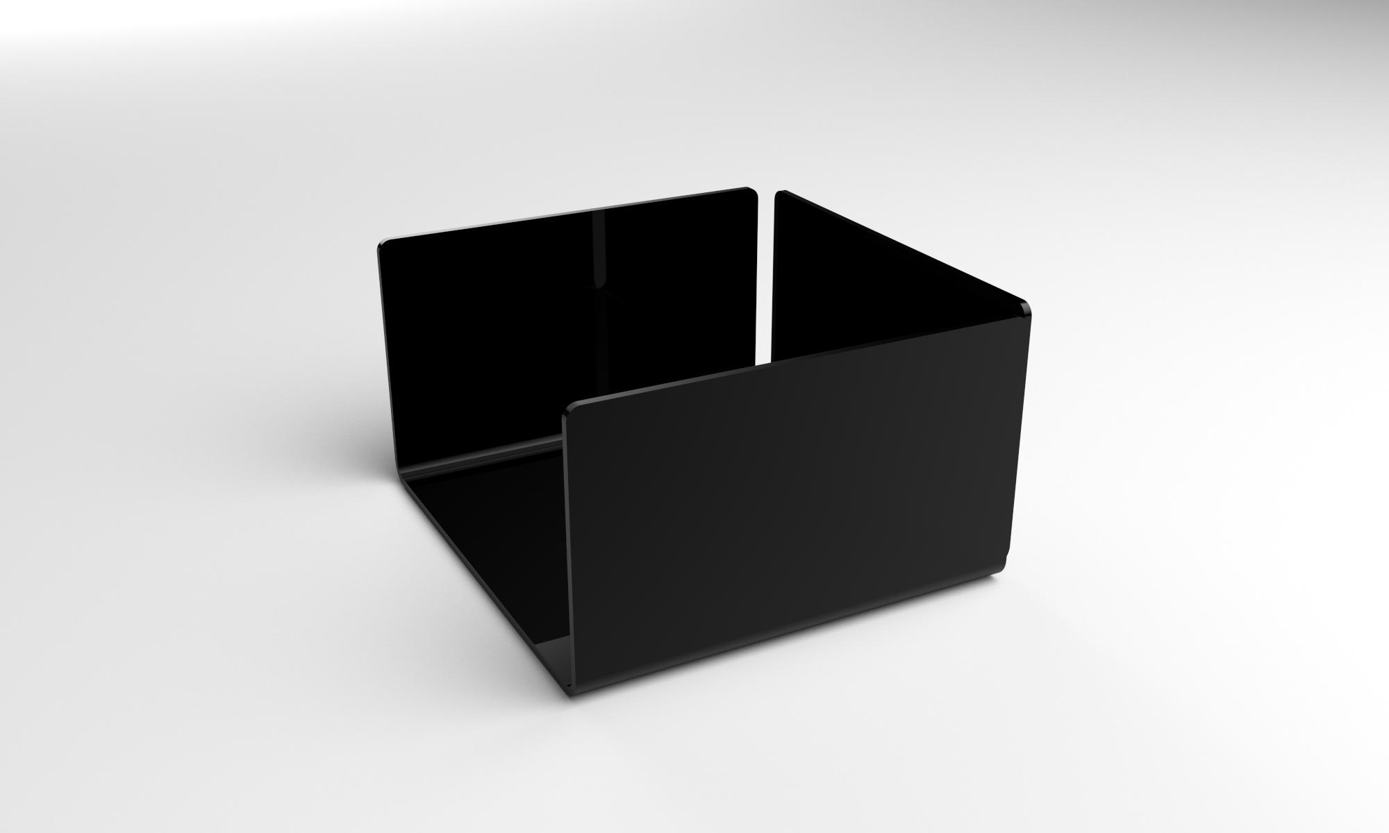 porte serviette noir plexiline. Black Bedroom Furniture Sets. Home Design Ideas